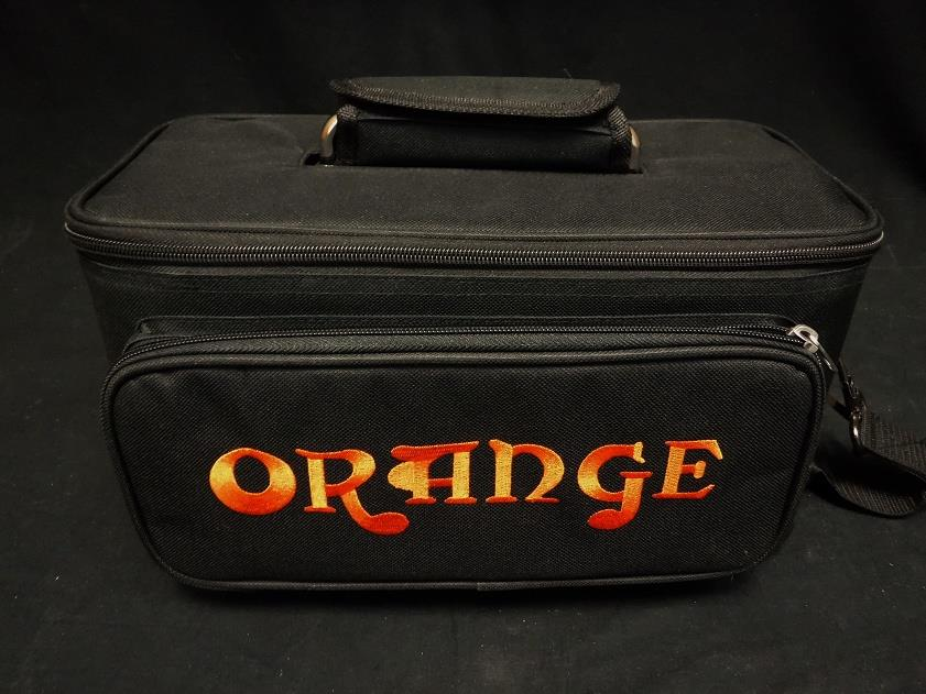 Orange Amplification Tiny Dark Terror Jim Root Head Replacement Paded Gig Bag