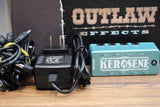 Outlaw Effects Kerosene Mini Pedalboard Power Supply & Cables Guitar Effect Pedal