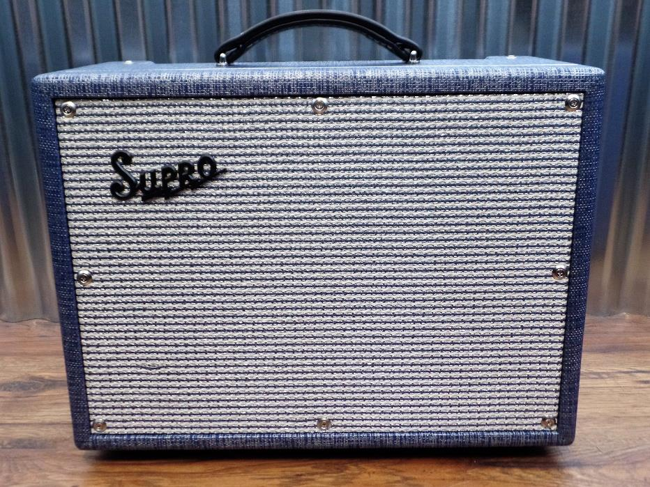 "Supro 1642RT Titan All Tube 10"" Speaker Guitar Reverb Tremolo Guitar Amplifier"