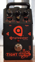 Amptweaker Tight Metal Jr Distortion Noise Gate Guitar Effect Pedal Used