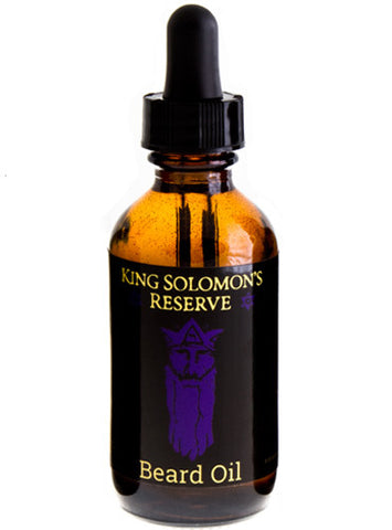 King Solomon's Reserve Beard Oil (2 oz)