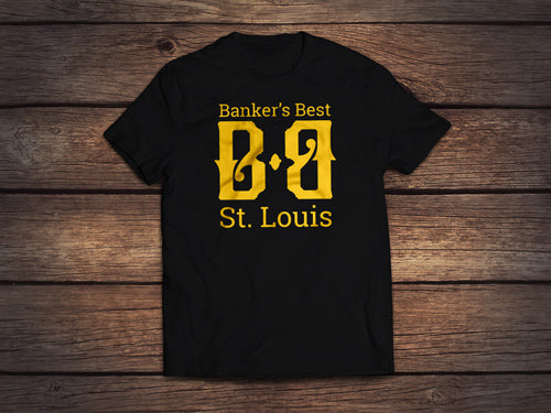 Banker's Best Basic Lockup T-Shirt
