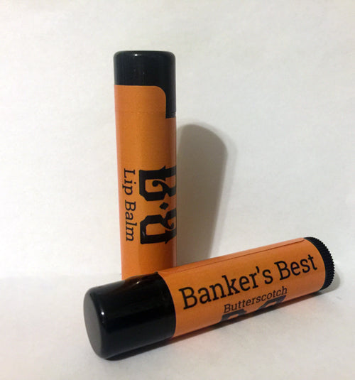 Banker's Best Butterscotch Lip Balm