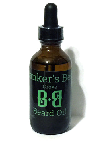 Banker's Best Grove Beard Oil (2oz)