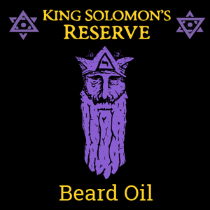 King Solomon's Reserve Beard Oil (2 oz) - Banker's Best