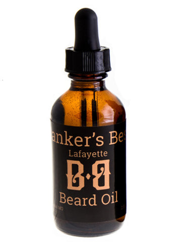 Banker's Best Lafayette Beard Oil (2oz)