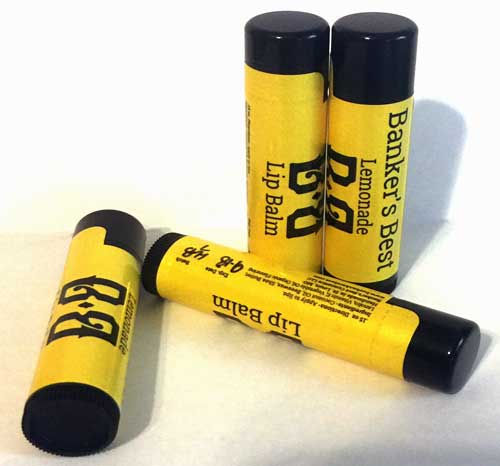 Banker's Best Lemonade Lip Balm