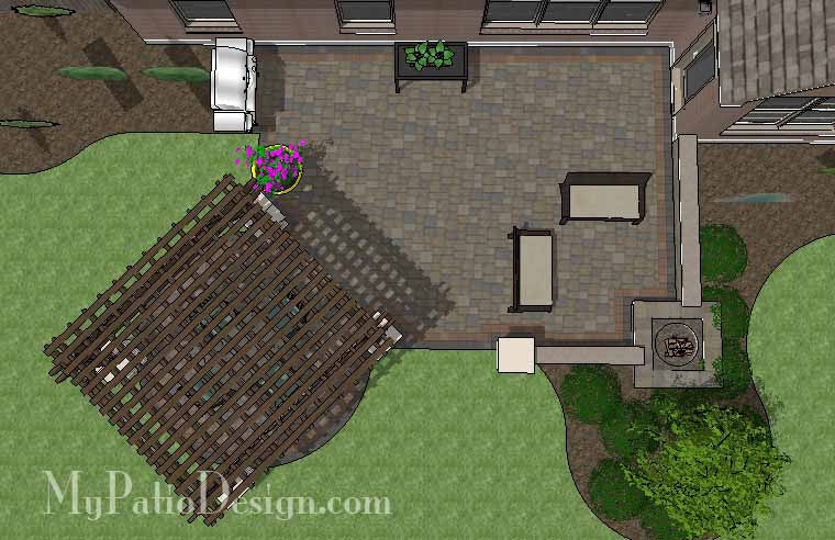 Creative Outdoor Design with Pergola 1