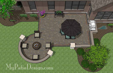 Creative Outdoor Design with Seat Walls 1