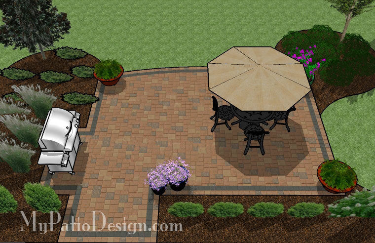 Creative and Simple Patio Design   Downloadable Plan ... on Creative Patio Designs id=46440