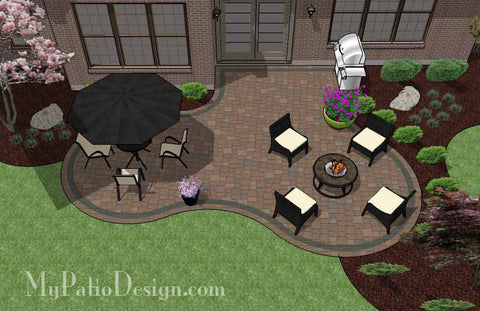 Curvy Patio Design 2