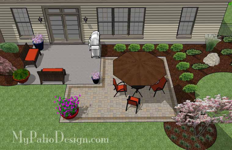 DIY Patio Addition Design with Seat Wall | Download Plan ...
