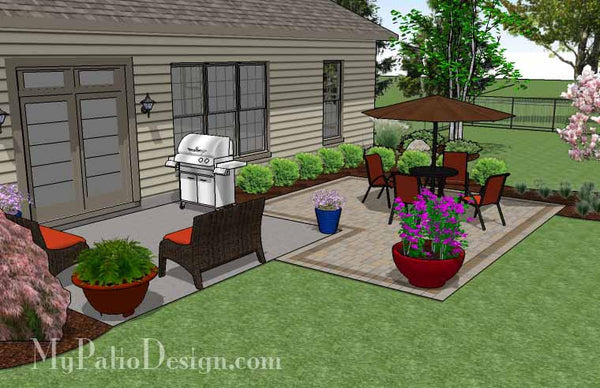 Diy Patio Addition Design Downloadable Plan