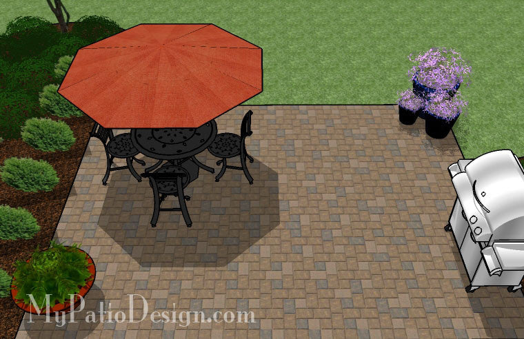 diy paver patio design 5 - Diy Patio Design