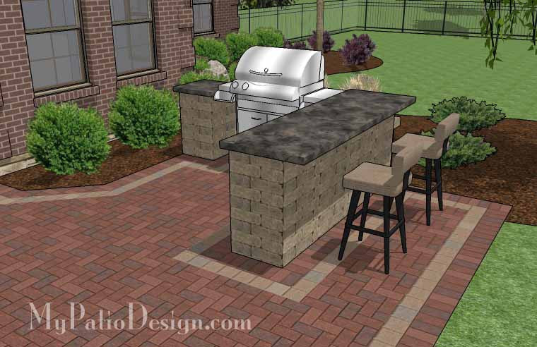 Patio Wall Design beautiful patio ideas with a few stone walls and a fireplace Brick Patio Design Brick Patio Designs Outdoor Patio Designs Large Brick Patio Design With Grill Station
