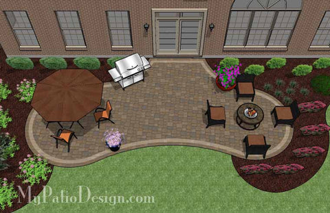 Radial Patio Design 2