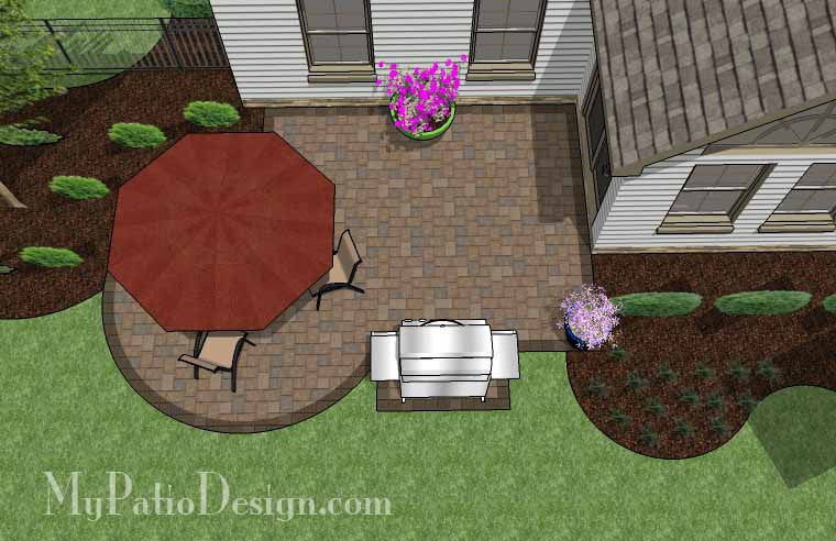 Small Courtyard Patio Design 2