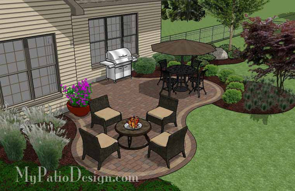 Pleasant Small Outdoor Living Patio Design Downloadable Plan Largest Home Design Picture Inspirations Pitcheantrous