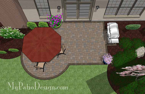 Small Patio Design on a Budget 2
