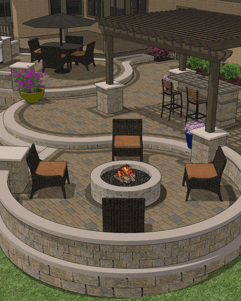 custom patio designing - Patio Designs