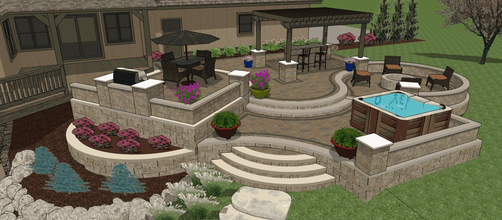 Image of: Affordable Patio Designs For Your Backyard Mypatiodesign Com