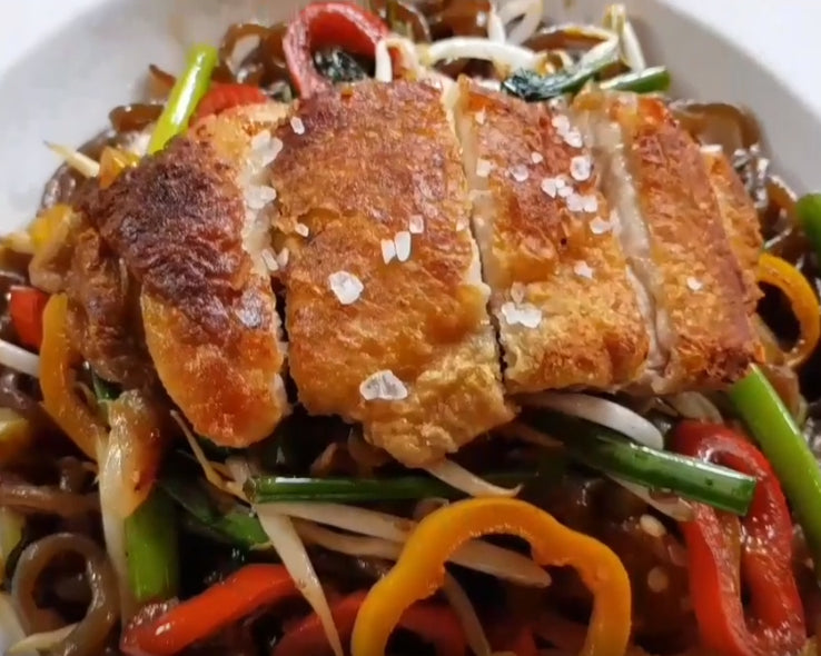 Spicy Crispy Chicken With Miracle Noodle Miracle Noodle