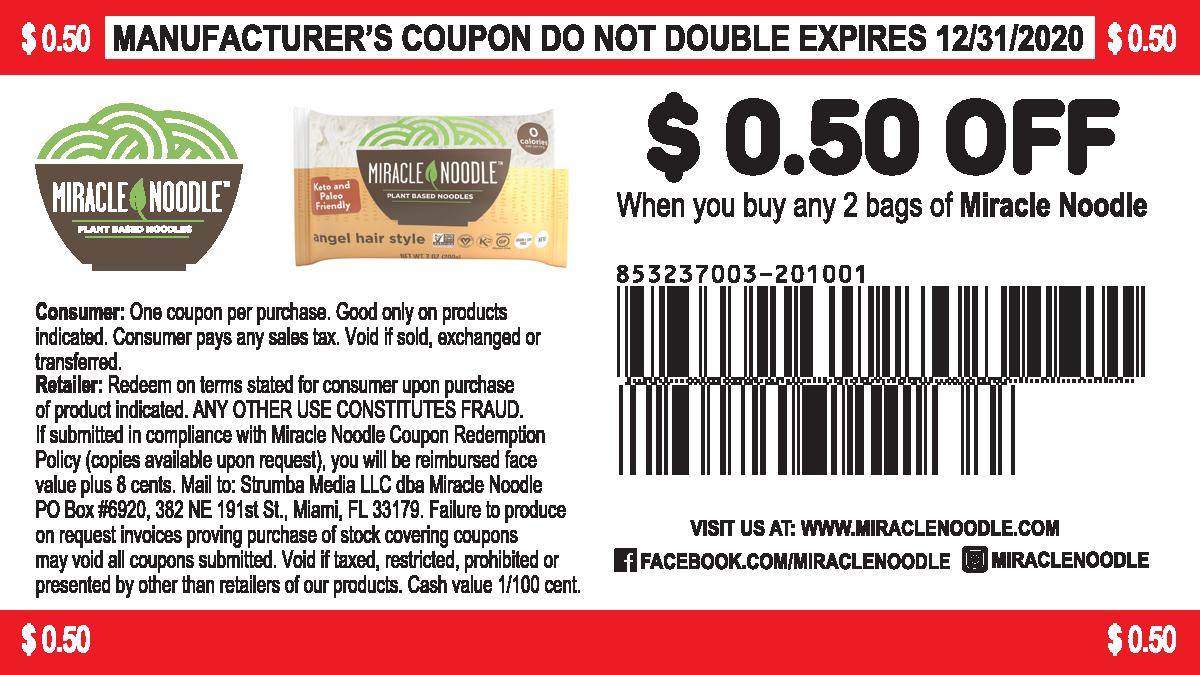 Coupon $0.50 off