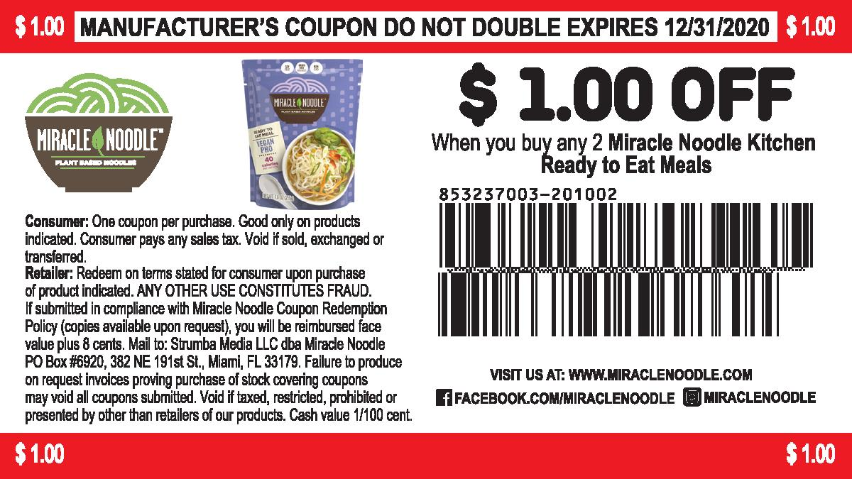 Coupon $1.00 off