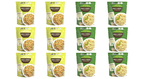 12-Pack Ready-to-Eat Meal Variety (6 Pad Thai and 6 Green Curry)