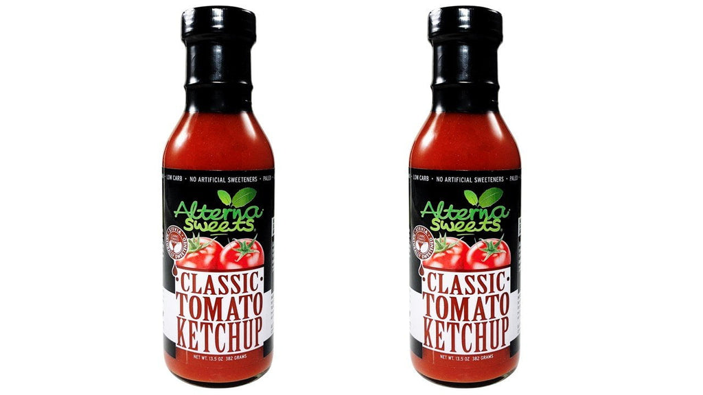 2-Bottle AlternaSweets Classic Tomato Ketchup