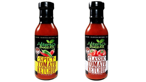 2-Bottle AlternaSweets Tomato Ketchup Variety
