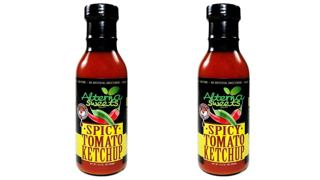 2-Bottle AlternaSweets Spicy Tomato Ketchup