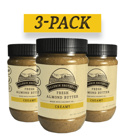 Creamy Almond Butter | 3-Pack