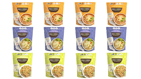 Best Sellers Variety Pack (4 Tom Yum, 4 Pad Thai and 4 Vegan Pho)