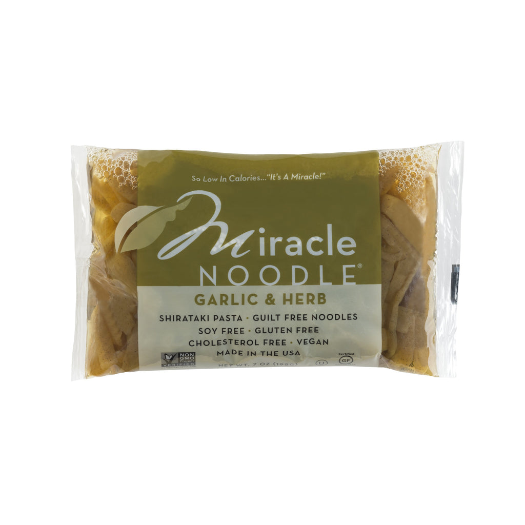 Miracle Noodle Garlic and Herb Fettuccine