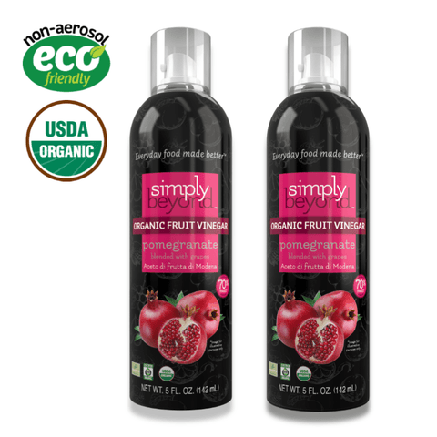 2-Pack Fruit Vinegar (Pomegranate) - Double the Vinegars!