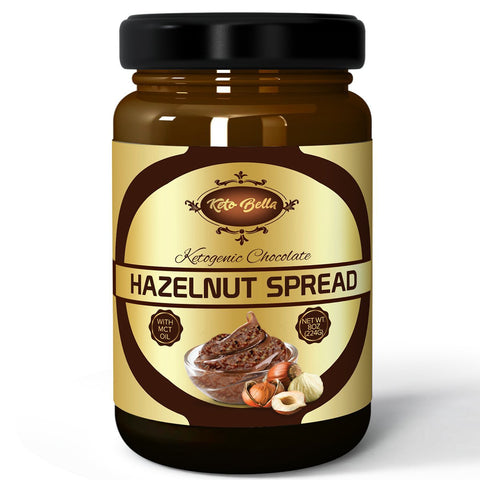 1-8oz Jar Keto Bella Hazelnut Spread