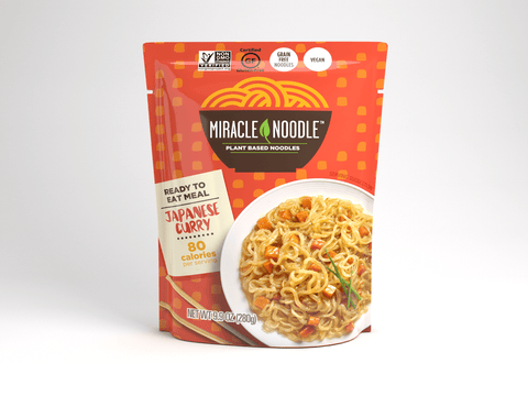 1 Pack Miracle Noodle Ready-to-Eat Japanese Curry Noodles