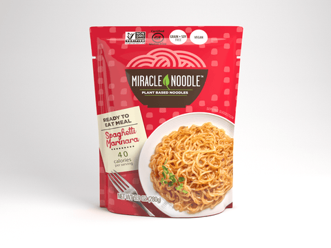1 Pack Miracle Noodle Ready-to-Eat Spaghetti with Tomato Sauce