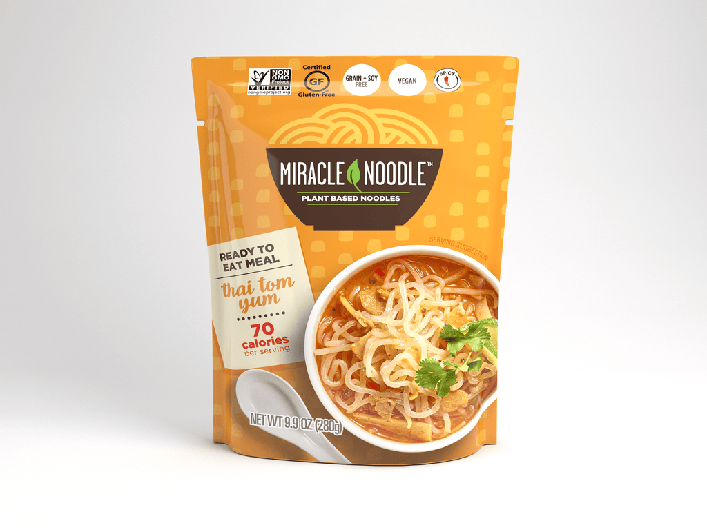 1 Pack Miracle Noodle Ready-to-Eat Thai Tom Yum Noodle Soup