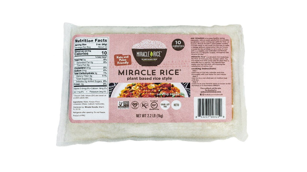 Miracle Noodle Super Size Rice - 5 packs