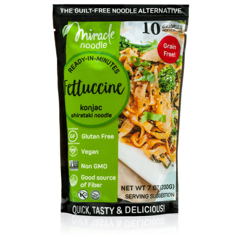 Firmer Texture Miracle Noodle Fettuccine