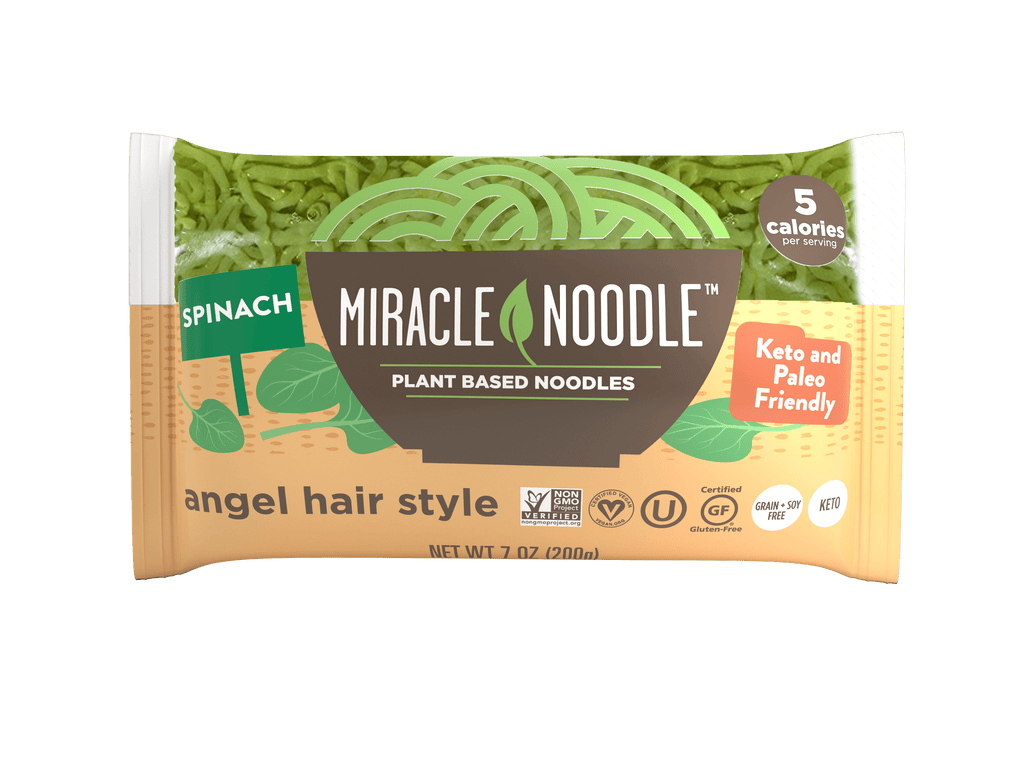 Miracle Noodle Spinach Angel Hair