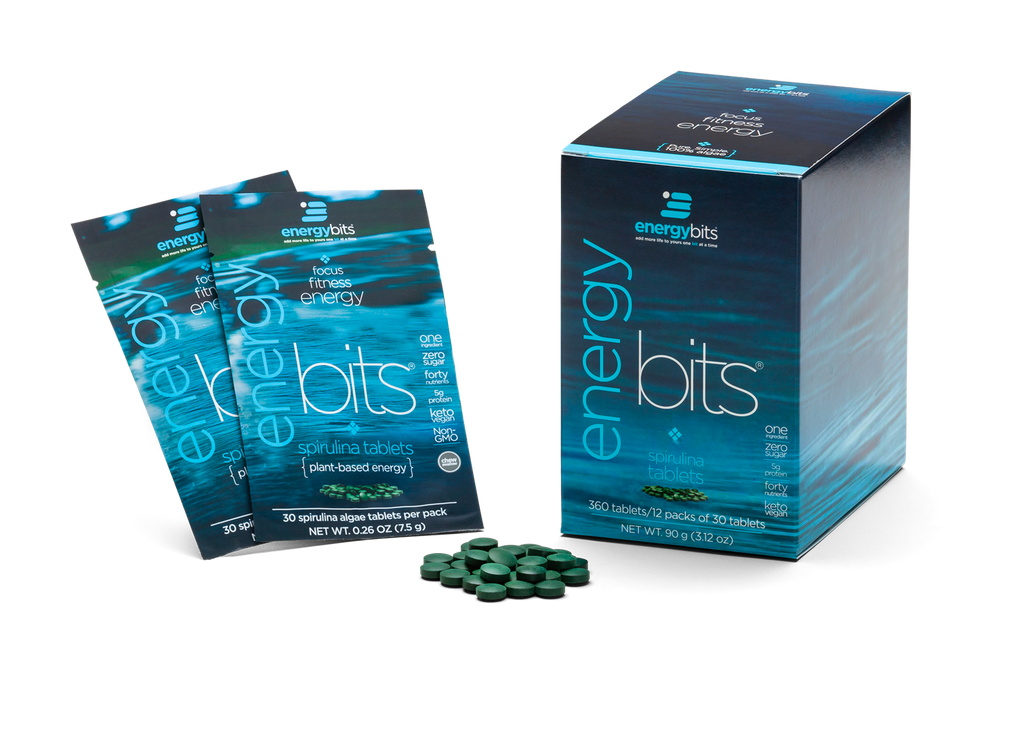 ENERGYBITS® SMALL BOX [12 SINGLE SERVINGS]