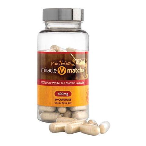 Miracle Matcha White Tea Capsules
