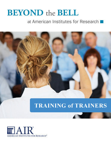 Training of Trainers - San Mateo
