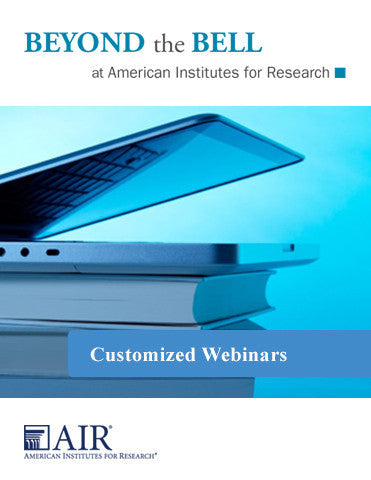 Customized Webinars