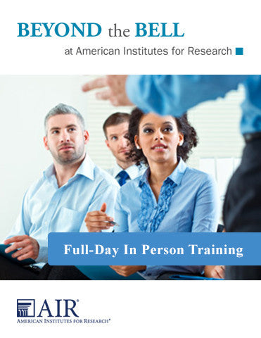 Full-Day In-Person Training (Customized)