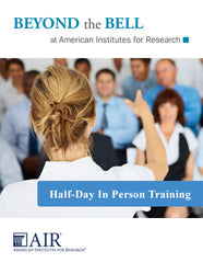Half-Day In-Person Training (Standard)
