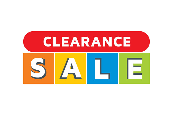 Clearance & Sale